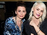 Jeanine Heller, left and actress Taryn Manning pictured earlier this year. Ms Manning has pressed stalking charges against Heller
