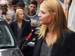 She's never far from the action! Claire Danes steps out with blood smeared cheek as she films scenes for Homeland in South Africa