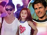 Katie Holmes steps out in see-through shirt during NYC stroll with Suri... as TWO YEAR anniversary of divorce filing from Tom Cruise rolls around
