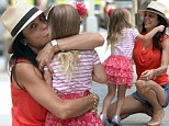 No holding back! Bethenny Frankel cannot help but shower her daughter Bryn in love as custody ruling come into force