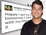 Has Rob Kardashian revealed he has a child? Reality star posts tweet about his 'son'