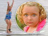 Summer memories: Alana 'Honey Boo Boo' Thompson shared her favourite summer moments on Thursday's episode of Here Comes Honey Boo Boo