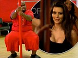 'I'm exhausted!' Cee Lo Green pulls a Kim Kardashian by trying to learn stripper pole dance for his new reality show