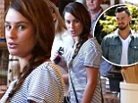 Lea Michele shops for furniture and beer in striped frock as it's revealed she and Matthew Paetz have an 'open type of relationship'