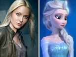 From Fringe to fairy tale: Georgina Haig lands coveted role as Frozen's Elsa in TV's fantasy drama Once Upon A Time