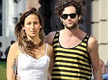 Gossip Girl's Penn Badgley steps out with mystery woman in NYC? seven months after splitting from longtime girlfriend Zoe Kravitz