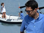 Hey presto! Magician Dynamo takes to the water as he whisks his girlfriend away on a romantic trip to Portofino