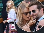 No Gerard Butler this year? Bradley Cooper returns to Wimbledon with a folksy Suki Waterhouse