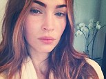 Radiant! Megan Fox launched her Instagram account on Thursday and shared a make-up free selfie