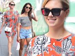 Kate Upton, 22, and Victoria's Secret model Lily Aldridge, 28, were seen out shopping together in the Soho neighborhood of New York City on Thursday
