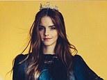 Emma Watson, shot here by Christian Oita for Wonderland's Feb 2014 edition, will have combat training for her new role