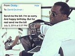 Mo money, no problems! P Diddy crashes into Miami club baron's boat but quickly asks for the damage bill
