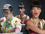 Getting revenge on the URL Badman! Lily Allen mocks internet trolls and bloggers in colourful video for her new single