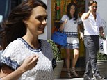 Buy, buy, baby! Tamara Ecclestone and her husband Jay Rutland go on London shopping spree for their daughter Sophia
