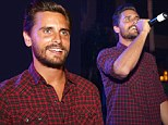 Scott Disick, 31, left pregnant girlfriend Kourtney Kardashian and their two young kids at home to party in New Jersey at the largest in-door pool party
