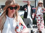 Ashlee Simpson and fiance Evan Ross make a fast food stop in LA en route to Santa Barbara for her sister Jessica's July 4 wedding