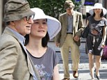 Woody Allen strolls hand-in-hand with wife of 22 years, Soon-Yi Previn, following romantic lunch in London