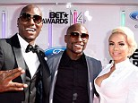 Flash: Floyd Mayweather was at the BET Awards as he announced plans for his next fight