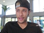 Still dreaming: Neymar insists he can still celebrate a World Cup victory with his teammates in Rio