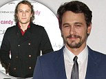 Did James Franco and Heath Ledger have a friendly rivalry? Actor hints they vied for numerous roles in bizarre poem about late Australian star