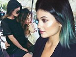 Kylie Jenner and Khloe Kardashian share sweet pictures, calling each other 'boo', on Instagram Sunday night