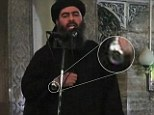 Video said to show extremist leader in Iraq at Friday prayers wearing an expensive watch