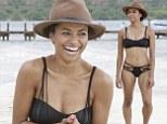 Kat splash fever! Vampire Diaries star Graham makes waves as she parades around beach in tiny bikini