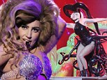 Under the sea! Lady Gaga rocked a rhinestone encrusted seashell bra and an octopus costume while performing at the Ottawa Bluesfest in Canada on Saturday