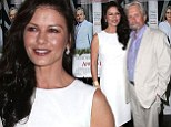 Playing the good wife! Catherine Zeta-Jones supports husband Michael Douglas at premiere of his film And So It Goes