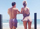 Flaunting it! Rosie Huntington-Whiteley shows off her taut bum in Instagram snap