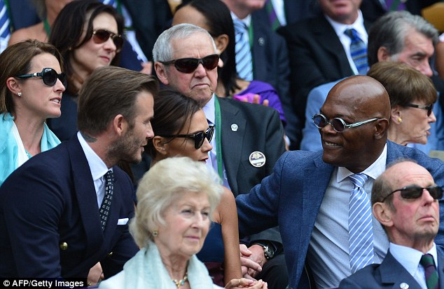 Discussion: The Beckhams and Samuel L in having a chat