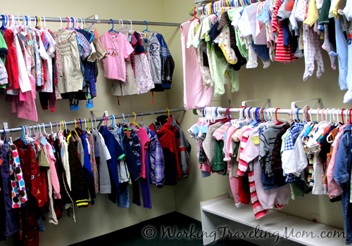 Ann Arbor thrift store used baby clothes