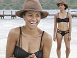 Kat splash fever! Vampire Diaries star Graham makes waves as she parades around beach in tiny bikini