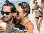Party every day! Kaley Cuoco shows off her sizzling bikini body before cuddling up to Ryan Sweeting on Mexican vacation