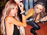 Getting low solo! Imogen Anthony struts her stuff on Los Angeles dance floor sans shock jock beau Kyle Sandilands