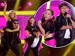 Grease Kids Australia? Joel Madden and Delta Goodrem dance up a storm imitating young duo's show stealing rendition of We Go Together on Voice Kids Australia