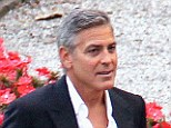 George Clooney and fiancee Amal Alamuddi
