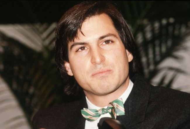 Steve Jobs with Bow tie