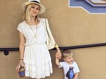 Reese Witherspoon shares a cute snap of herself holding hands with youngest son Tennessee