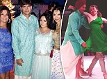 Ashton Kutcher wears traditional Sikh dress to attend the wedding of an Indian friend with Mila Kunis