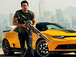 It's a hit: Mark Wahlberg in Transformers: Age Of Extinction