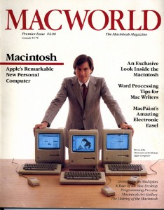 Steve Jobs on MacWorld Magazine 1984