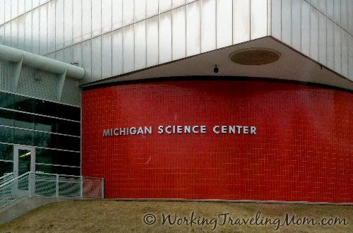 Michigan Science Center Exterior