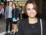 They're far from Les Mis! Samantha Barks shows off trim pins in LBD and classic stilettos as she enjoys theatre date with boyfriend Richard Fleeshman