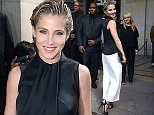 PARIS, FRANCE - JULY 08:  Elsa Pataky attends the Giorgio Armani Prive show as part of Paris Fashion Week - Haute Couture Fall/Winter 2014-2015 at Theatre National de Chaillot on July 8, 2014 in Paris, France.  (Photo by Pierre Suu/Getty Images)