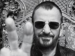 Lending his Starr quality! Beatles drummer Ringo celebrates his 74th birthday becoming a male model for John Varvatos