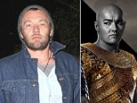 Walk like an Egyptian: Australian actor Joel Edgerton has undergone an extreme makeover for his new role in Exodus: Gods And Kings