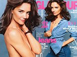 'Nothing worth having happens quickly': Katie Holmes talks love, life, motherhood and career aspirations as she poses seductively for magazine cover