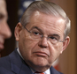 FILE - This March 27, 2014 file photo shows Sen. Robert Menendez, D-N.J. on Capitol Hill in Washington. Menendez says his attorney has asked the Justice Depa...