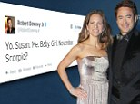 'We're having a baby girl!' Robert Downey Jr. reveals he and wife Susan are expecting their second child together